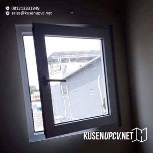 harga jendela upvc swing conch warna putih di Tebet id8493
