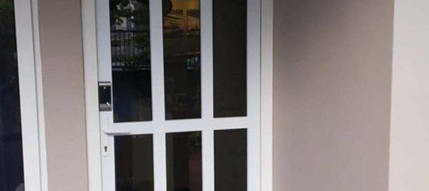 model pintu upvc swing conch putih di Permata Hijau id8427