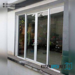 jual pintu upvc sliding dengan kaca mati di Duren Sawit id7581