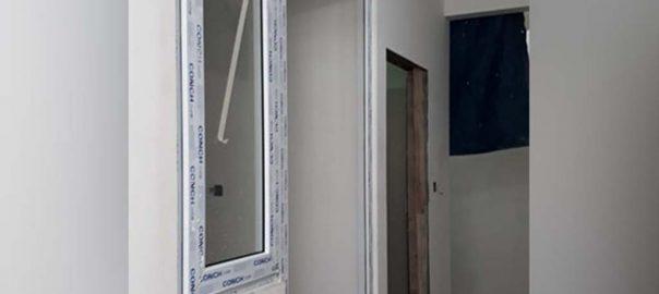 harga pintu upvc merk conch warna putih di Bintaro id9108