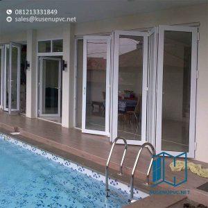 Daun Jendela UPVC Pelengkap Jendela Yang Kokoh id5884
