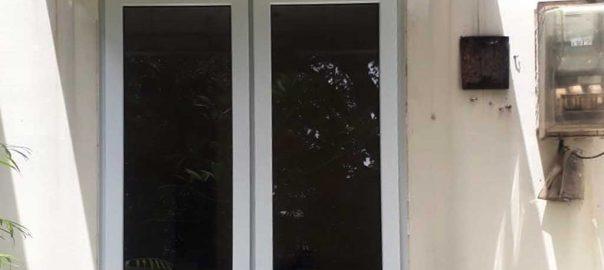 Harga Jendela UPVC Jungkit Putih Gondangdia Menteng Jakarta id6148